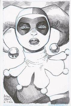 Harley Quinn by Arthur Adams * - Art Vault