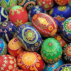 I can't wait to make these again this year!-Ukrainian Eggs :)