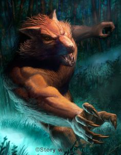 Werewolf Charge by JoeSlucher.deviantart.com on @deviantART