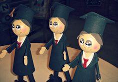 Fofuhos graduados.