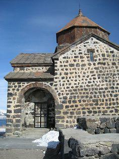 Armenia - Lake Sevan church 1