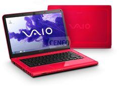 Intenstywnie różowy Sony Vaio VPCCA4S1E.