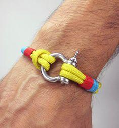 Men Bracelet / Unisex Bracelet / Nautical Bracelet by ZEcollection, $14.00