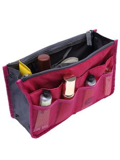 Shop Rose Red Cosmetic Storage Mesh Nylon Bag online. SheIn offers Rose Red Cosmetic Storage Mesh Nylon Bag & more to fit your fashionable needs.