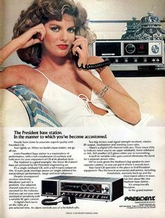 """CB Radios. My dad had one installed in my first car, a cherry-red 1979 Ford Pinto Hatchback. I had a tall whip on the rear of the car that was battered at the tip from hitting each rung in the parking garage ceiling...ha. My handle was """"Cottontop"""" and it was so fun cruising on the highway talking to the truckers. Back when you could still have good clean fun. Great memories."""