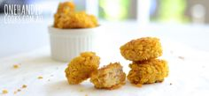 20 CHICKEN FINGER FOOD RECIPES: We asked what how you serve chicken as finger food to your children - here are some of the fabulous replies plus a few of our recipes you might like to try :) #onehandedcooks