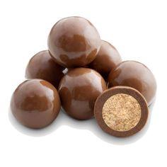 Reduced Sugar Milk Chocolate Malt Balls - 2 LB Bulk Bag