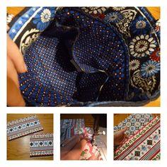 A Little Dancer: Vera Bradley Bag Tutorial Trendy Purses, Cute Purses, Vera Bradley Purses, Vera Bradley Backpack, Handbags On Sale, Purses And Handbags, Diy Backpack, Backpack Pattern, Handbag Patterns