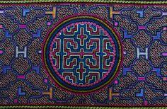 magictransistor:  Shipibo Tribe. Geometric Textiles. Peruvian...