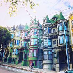 Houses Of San Francisco by @mysfbayarea by photoblog.sanfranciscofeelings.com sanfrancisco sf bayarea alwayssf goldengatebridge goldengate alcatraz california