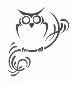 Tribal Owl Tattoos Meaning
