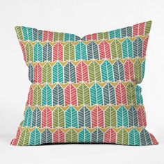 Arboretum Throw Pillow by DENY Designs