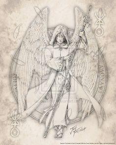 gabriel archangel symbol - Buscar con Google