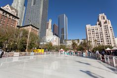 Celebrate the season by going ice skating in Los Angeles. From Downtown to Santa Monica, these ice skating rinks help bring on the holiday cheer.