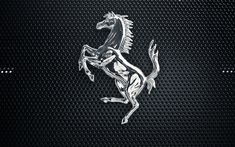 The Ferrari symbol is square with the note 'black prancing horse'. The logo is crowned with green, white and red strips, which symbolize Italian national colours. Logos Meaning, Blue Devil, Car Logos, Ferrari Logo, Car Manufacturers, Me On A Map, Automobile, Moose Art, Animals