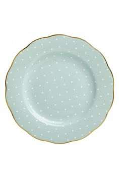 Royal Albert Polka Rose Vintage Salad Plate. At Waterford Wedgwood Royal Doulton, San Marcos, TX or call 1-800-203-4540
