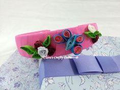 Art Nouveau Headbands - pink