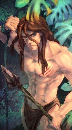 *TARZAN ~ persephinae: Tarzan by 九命嵐