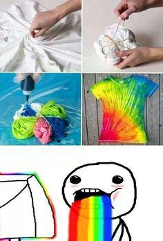 camiseta DIY