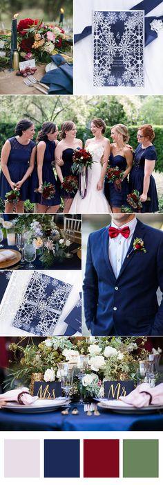 glittery silver and blue winter snowflake wedding invitations with pearl white buckles#ElegantWeddingInvites#navyblueweddinginvite