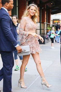 Blake Lively - June 20 2016 In Elie Saab while out in New York City.