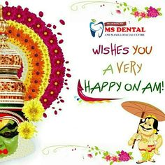 MS Dental Implant Dentistry, Cosmetic Dentistry, Teeth Implants, Dental Implants, Oral Maxillofacial, Kovalam, Dental Hospital, Happy Onam, Root Canal Treatment