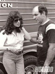 Shirley Muldowney - Drag Racing Campion.