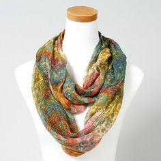 Go boho-chic with a Rustic Scarf