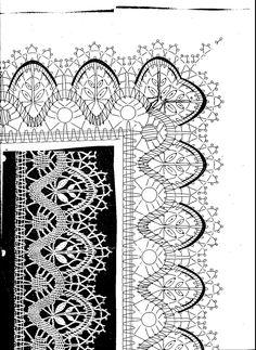 Archivo de álbumes Bobbin Lace Patterns, Crochet Patterns, Vintage Crochet, Crochet Lace, Romanian Lace, Bobbin Lacemaking, Lace Heart, Crochet Books, Needle Lace