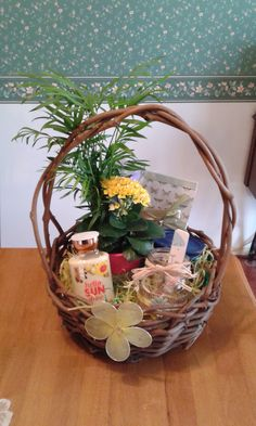 My high school students helped make easter baskets for residents easter basket for my parents negle Gallery