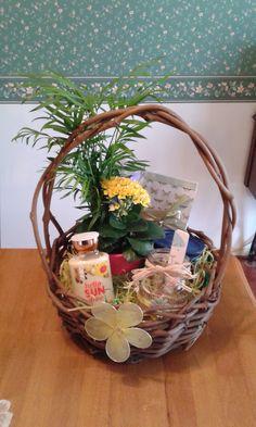Easter basket for my parents