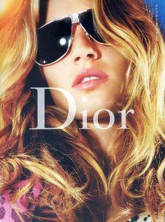 0fe857697af7 Gisele Bundchen for Dior Fall 2004 Campaign Cheap Sunglasses