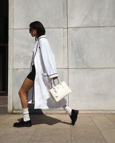 Street Chic, Street Style, Gilda Ambrosio, Style Icons, High Fashion, Prada, Shoulder Bag, Photo And Video, Fitness