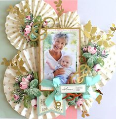 Hello, hello! We are continuing with our beautiful in the making projects in honor of National Scrapbook Month, and we have an interesting way to take our Blooming Decoupage Card Making Kit and turn it into an amazing, dimensional scrapbook page! Our products are so versatile, and this one is no exception! Want to learn more? Let's get started!