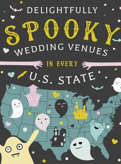 Delightfully Spooky Wedding Venues In Every U.S. State