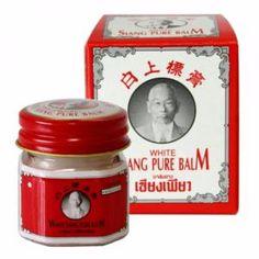 Baume blanc 12g Siang Pure, vendu à 1.80€. Produit issue de la médecine chinoise  #siang_pure