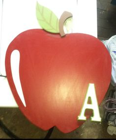 Hand made by me apple wall hanging. #applewallhanging