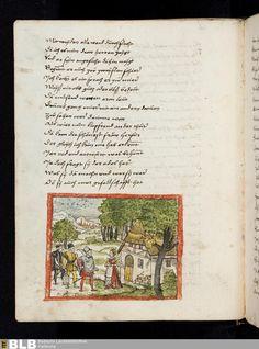 284 [100v] - Frau Untreue - Seite - Handschriften - BLB Karlsruhe