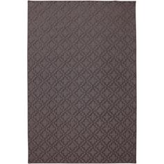 Quatrefoil SmartStrand Carved Rug (6' x 9') | Overstock.com Shopping - Great Deals on 5x8 - 6x9 Rugs