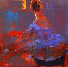 Alina Maksimenko Paintings, Art, Oil on canvas, Postimpressionism