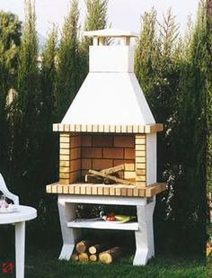 1000 images about barbacoas on pinterest barbacoa for Chimeneas de jardin
