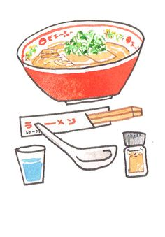 Ramen ~ illustration