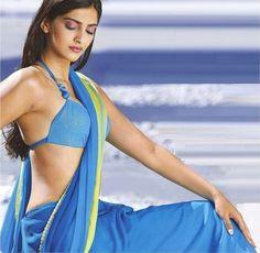 sonam-kapoor-in Saree - I hate Love stories