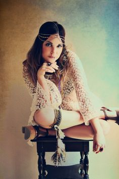 The Bohemian Collective features our Gypsy Junkies Mimi Tunic in their Lookbook!