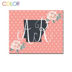 Arkansas State Printable ArtPink and White by ColorPrintables, $5.00