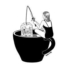 Ilustrações cheias de metáforas e surrealismo. Assim são as obras de Henn Kim, que retrata realidades cotidianas com um olhar onírico. Confira!