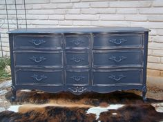Pretty accent piece  Vintage French Provincial Dresser