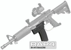 Oh sweet jesus! Rap4 M4/M16 All Metal Magazine for Tippmann 98 Custom Paintball Gun