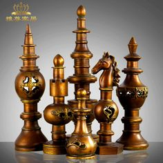 Azera home living room European style villas set six chess creative craft ornaments ornaments upscale hotel-in Crafts from Home & Garden on Aliexpress.com | Alibaba Group
