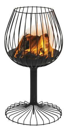 Brandy Cast-iron firepit by Sywawa